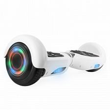 Hoverboard in White with Bluetooth Speakers