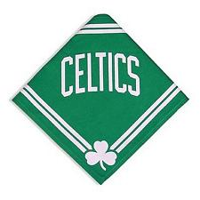 SportyK9 Boston Celtics Dog Bandana - M/L