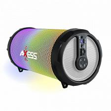 Axess LED Bluetooth Media Speaker In Silver