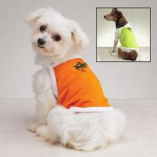 Casual Canine; Pet Edge Tiki Tanks - Lime Ricky Green - Large