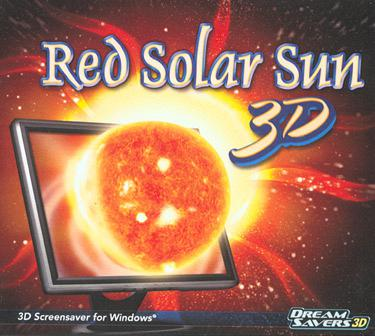 Dream Saver 3D Red Solar Sun 3D Screensaver