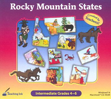 SelectSoft Publishing Rocky Mountain States Grade 4-6 - Created