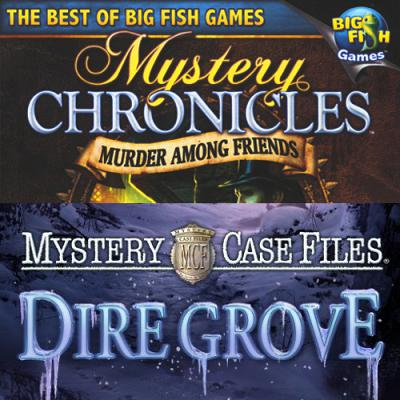 AcTiVision Mystery Case Files 2-Pack Dire Grove and Mystery Chro