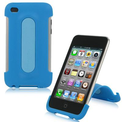 XtremeMac XtremeMac iPod Touch 4G Snap Stand - Peacock Blue