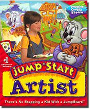 Knowledge Adventure JumpStart Artist