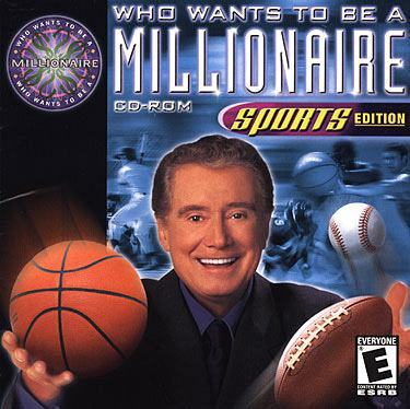 Disney Interactive Who Wants To Be A Millionaire Sports Edition