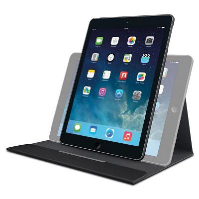 Logitech Turnaround Carrying Case for iPad Air - Intense Black