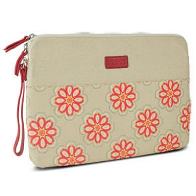 Greene + Gray Zippered Sleeve for Microsoft Surface Pro, Red Floral, Open Box