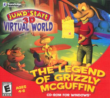 Knowledge Adventure JumpStart 3D Virtual World: The Legend of Gr