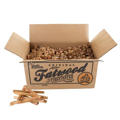 Fatwood Firestarter Kindling Sticks for Wood Stoves, Fireplaces,