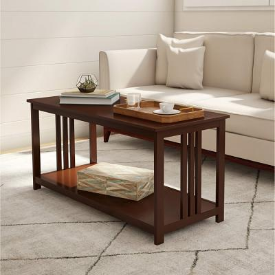 Somerset Home Mission Coffee Table ? Two Tier in Brown