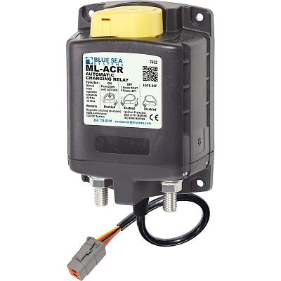 Blue Sea 7622100 ML ACR Charging Relay 12V 500A w/Manual Control