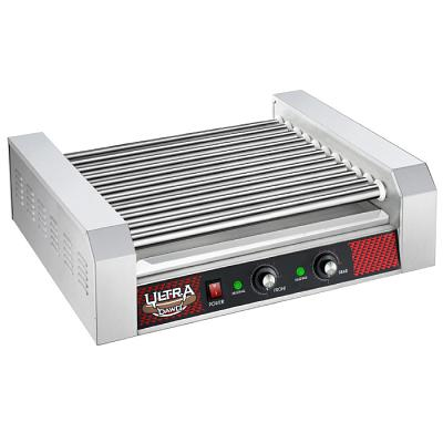 11 Roller Hot Dog Machine ? Countertop Grill- Cooks 30 Hotdogs,