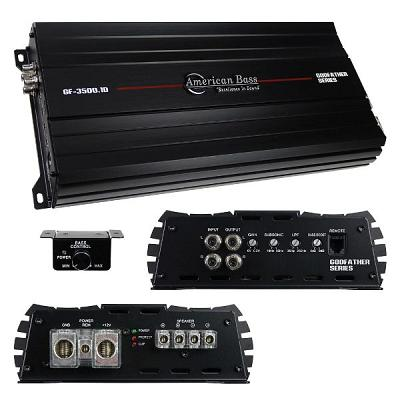 American Bass Godfather 1Ch Amplifier 3047 Watts Rms