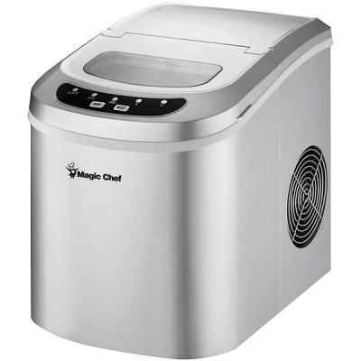 Magic Chef Mcim22sv 27lb Capacity Portable Mini Ice Maker