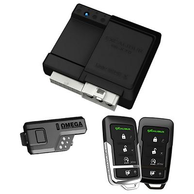 Excalibur 3000 Feet 4-Button Remote Start Keyless Entry System